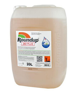 Monsanto Roundup 360 PLUS 20 L - środek na chwasty