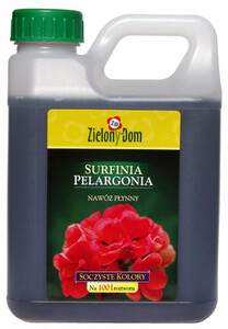 ZIELONY DOM Nawóz do pelargonii i surfinii 950ml