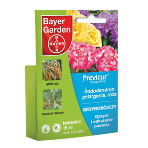 BAYER Previcur Energy rododendron, pelargonia, róża 15ml