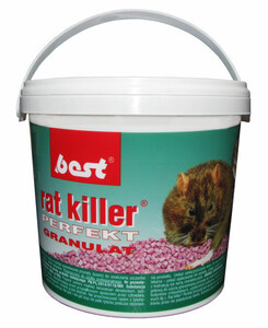 BEST PEST Rat Killer Perfect Granulat 1kg