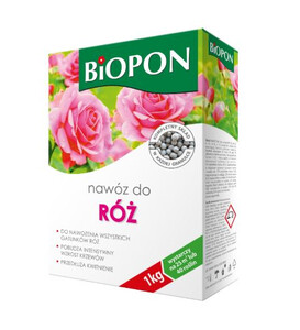 BIOPON Nawóz do róż granulat 1kg